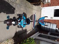 Little Tikes 4 in 1 Sports Edition Trike Blue. Suitable from 9-30 months. For collrction.