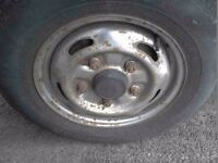 Ford Transit wheel and tyre 185/70/15 & 195/70/15