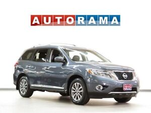 2016 Nissan Pathfinder PLATINUM NAVIGATION LEATHER SUNROOF 7-PAS