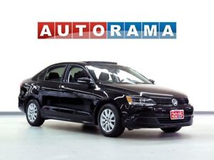 2015 Volkswagen Jetta TDI HIGHLINE PKG LEATHER SUNROOF