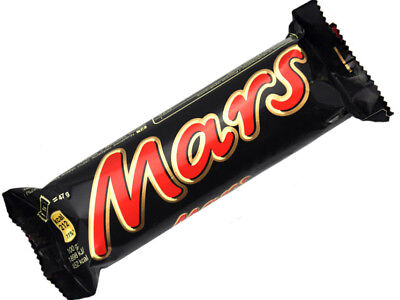 Mars Chocolate Bar 40 Count  47G Bars    Free Shipping
