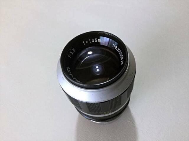 Hanimex Tokina 135mm F3 5 Manual Focus Lens M42 Mount