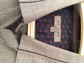 Men's Ted Baker grey shirt