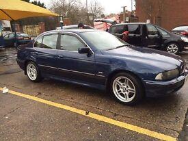 BMW 530 D Blue