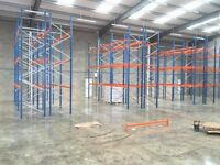 USED PALLET RACKING AND SHELVING FOR SALE
