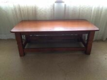Wooden coffee table Woy Woy Gosford Area Preview