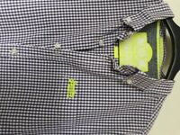 SuperDry long sleeved checked shirt