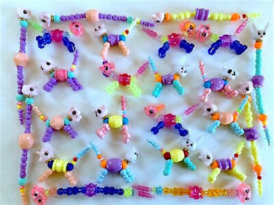Wholesale Lot 40 Twisty Pet Assorted Party Favors Bracelets BEST PRICE Kids