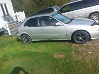 Honda Civic hatchback 2000 swap SIR