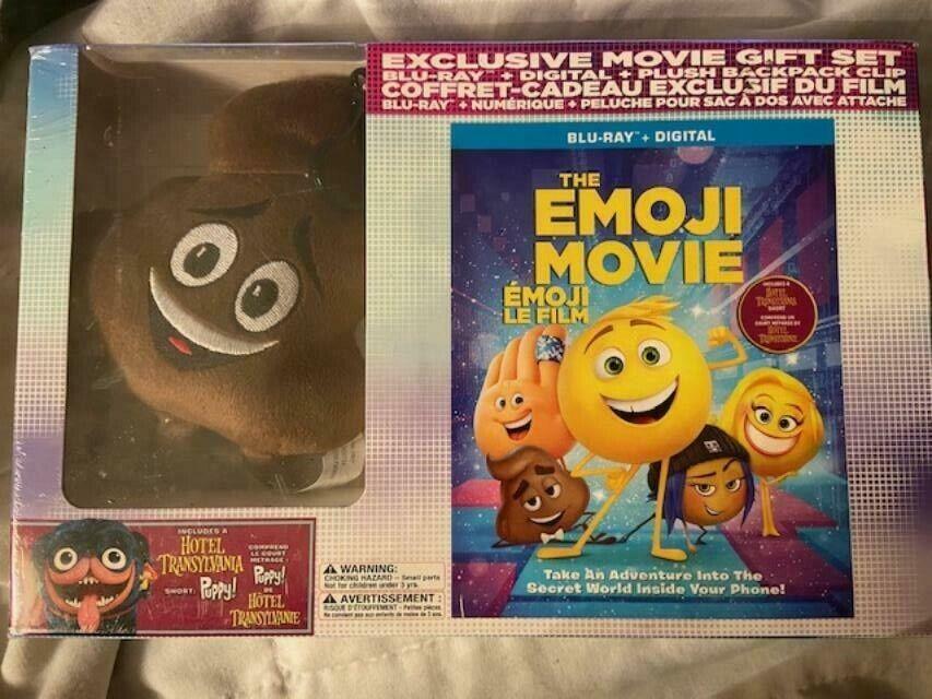The Emoji Movie Exclusive Movie Gift Set Blu-Ray DIgital FACTORY SEALED - $17.99