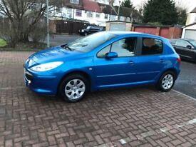 2007 Peugeot 307 1.4 16v S 5dr Mnaual @07445775115