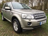 2011 LAND ROVER FREELANDER 2 2.2 TD4 XS 5 DR 4X4 STATION WAGON AUTOMATIC 12 M...