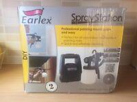 EARLEX HV1900 SPRAY STATION SPRAY PAINT GUN