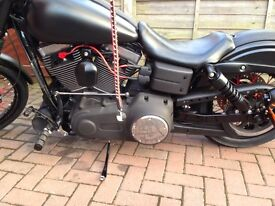 Harley Dyna solo seat