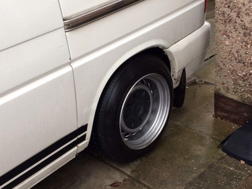 Banded Steel Wheels 16 Quot Vw T4 Caddy Etc In Stoke On