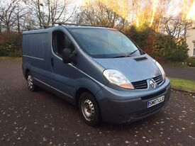 Renault traffic 1.9dci 6 speed 115bhp 07reg