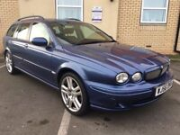 2006 56 JAGUAR X TYPE 2.2 D SPORT 5 DR ESTATE BEAUTIFUL CAR MOT NOV 2018