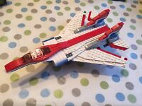 Lego jet fighter, 100% Lego, instructions included