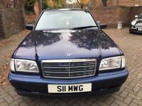 MERCEDES BENZ 1.8,FULLY AUTOMATIC,FULL SERVICE HISTORY,1 YEAR M.O.T,CLEAN BLUE INTERIOR, LADY OWNER
