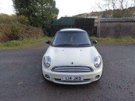 Mini Cooper 2008 Pepper White 1.6L