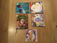 Selection of children's Christmas books