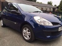 Renault Clio Expression 2007, Engine 1.4, only 38000 miles, Manual. £1200