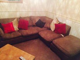 Large corner sofa great condition
