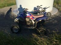 yamaha raptor 660 may px farm quad