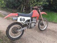 Honda 250cc Scrambler Dirt Motorbike