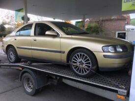 Breaking Volvo S60 2.0 turbo all parts spares available