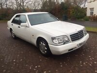 Mercedes Benz S280 W140 auto classic model
