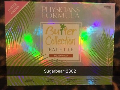 New Physicians Formula Butter Collection Palette Medium Deep Limited Edition Set