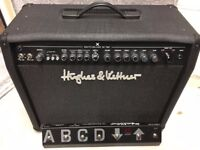 Hughes & Kettner Switchblade 50W Combo Amp with cover - IDEAL CHRISTMAS PRESENT