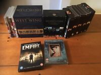 Classic DVD Box Set Bundle inc. West Wing, Six Ft Under, 24, Twin Peaks, Mad Men, Boardwalk Empire