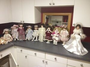 "12-16"" collector dolls"