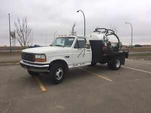1998 Ford F-350 Vactruck/Sewage truck  (Financing Availible)