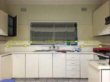 Kitchen bench top oven rangehood Canley Heights Fairfield Area Preview