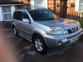 Nissan x trail full leather panoramic roof