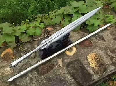 Chinese spear lance Pattern-welded steel stainless steel rod/Tai chi kung fu