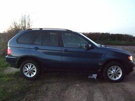 BMW X5 diesel SE auto 2002