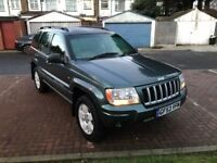 2004 Jeep Grand Cherokee 2.7 CRD Limited 4x4 5dr @07445775115