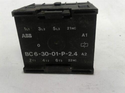 ASEA Brown Boveri BC6-30-01-P-2.4 Mini Contactor IEC 947-4-1 BC6