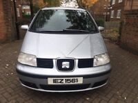 SEAT ALHAMBRA 1.9 FULLY AUTOMATIC 2006, VERY LOW MILEAGE, FULL SERVICE,2 PREVIOUS OWNER, LADY OWNER