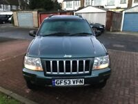 2004 Jeep Grand Cherokee 2.7 CRD Limited 4x4 5dr @@@07445775115