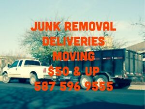Junk Removal ~ Moving ~ Kijiji Deliveries - $50 & UP