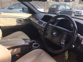 BMW 7 series mint condition .two owners .clean in and out .just service with doc .1 year MOT