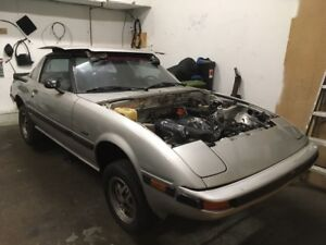 Mazda Rx7 V8/5speed project