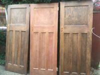 3 x Original 1930's Internal DX Doors