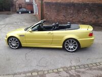 Bmw M3 E46 2003 Smg Coupe Or Convertible P/side Door Only No Mirror Breaking