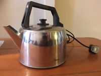 Large 3.5 Litre Stainless Steel Corded Catering Kettle